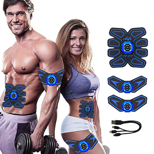 Abs Stimulator Ab Stimulator Rechargeable Ultimate Abs Stimulator for Men Women Abdominal Work Out Ads Power Fitness Abs Muscle