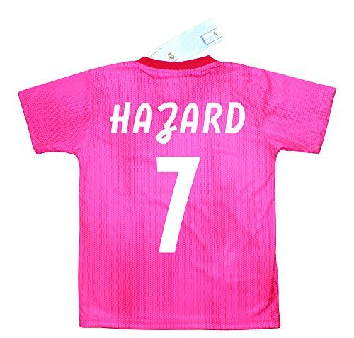 Real Madrid R/éplica Autorizada Camiseta y Pantal/ón Infantil Segunda Equipaci/ón Personalizable Champions City Kit