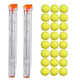 Little Valentine 24-Round Refill Pack and 2 Pack 12-Round Magazine for Nerf Rival Blasters