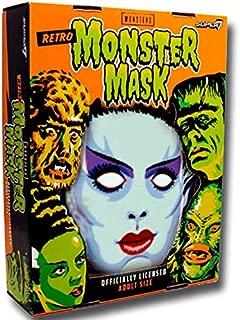 Super7 Universal Monsters Bride of Frankenstein Retro White Monster Mask