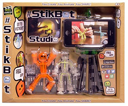 Toy Shed stikbot Studio-Set (orange/weiß/transparent)
