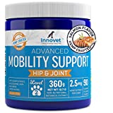 🐾 A MOBILITY CHEW LIKE NO OTHER: We call it Advanced for a reason. Our chews up the mobility game by including the superfood terpenes. This unleashes an immense number of anti-inflammatory, analgesic (pain relief), and calming properties. All of whic...