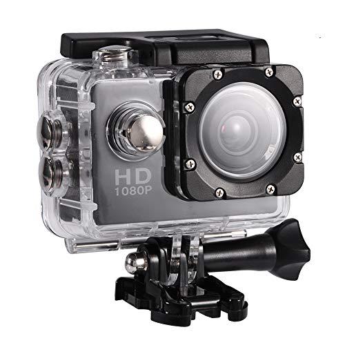 Vbestlife Mini Videocámara Deportiva a Prueba de Agua 1080P Ultra HD 32GB Action Camera al Aire...