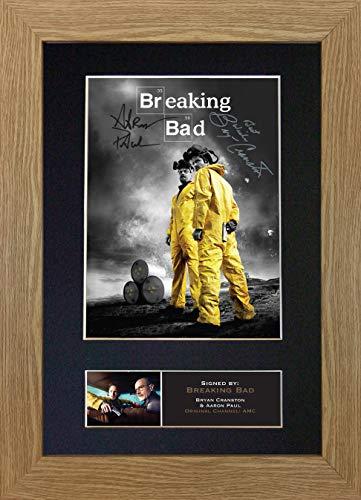 The Gift Room # 362 - Póster Enmarcado de Breaking Bad (tamaño A4)