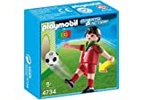 Playmobil Fútbol - Fútbol: Jugador Portugal (4734)