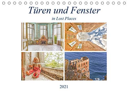 Fenster und Türen in Lost PlacesCH-Version (Tischkalender 2021 DIN A5 quer)