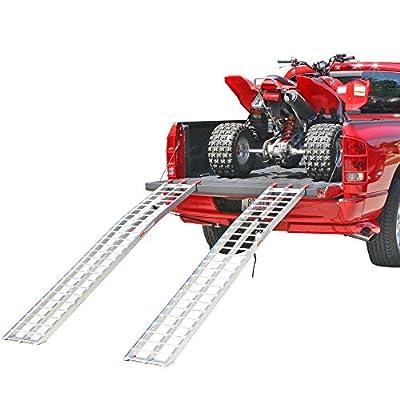 "Rage Powersports 89"" Arched Aluminum ATV Loading Ramps"