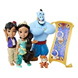 Disney Princess Jasmine & Aladdin Doll Petite Storytelling Gift Set