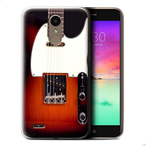 Stuff4® Gel TPU Case/Case voor LG K10 2017/M250N/X400/Sunburst Electric Patroon/Gitaar Collectie