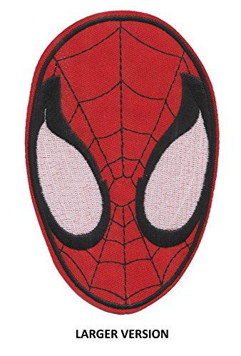 Spiderman abitón ' grandes' patches bordado motivo