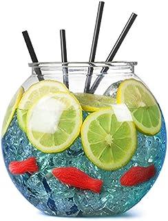 bar@drinkstuff Aquarium poisson à cocktail XL en plastique ,3 litres , idéal pour..