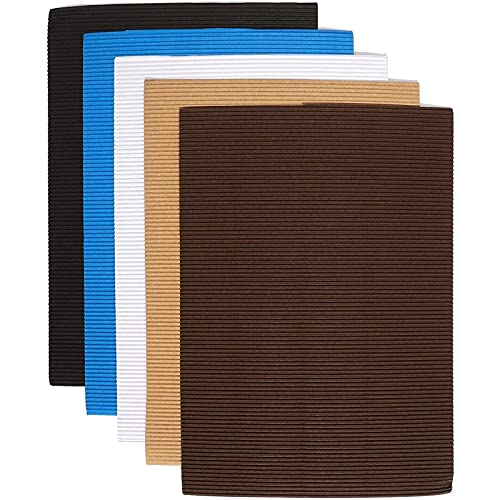Bright Creations Corrugated Sheets for Invitations and Projects – Pack of 30, Neutral Colors