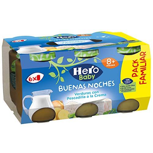 Hero Baby Buenas Noches Tarrito De Pescado 1140 g - Pack de 3