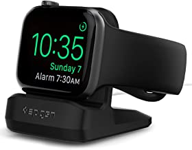 Spigen S350 Designed for Apple Watch Stand for 44mm/40mm Series 6/SE/5/4 and 42mm/38mm Series 3/2/1 - Black