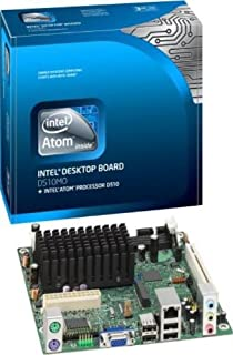 Intel Desktop Board D510MO with integrated Intel Atom processor D510 - Motherboard - mini ITX - iNM10 - SATA-300 - Gigabit Ethernet - video - High Definition Audio (6-channel)