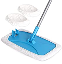 MR. SIGA Large Surface Microfiber Mop - Size: 15.3 x 8.3 39 x 21cm 2 Free Microfiber refills included