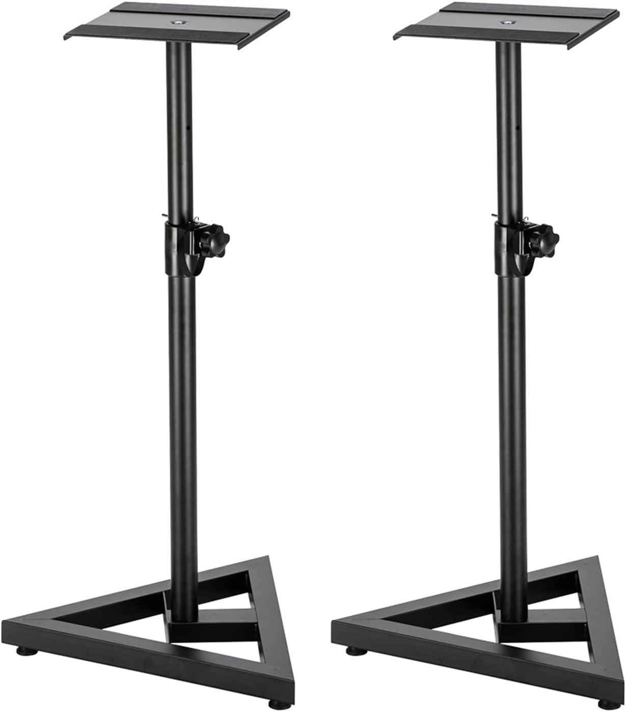 kannore ZHEYANG 2pcs Laboured Duty outlet Speaker Adjustable Height Pro half
