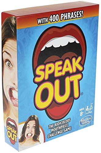 Hasbro Gaming Speak Out Game Mouthpiece Challenge JungleDealsBlog.com