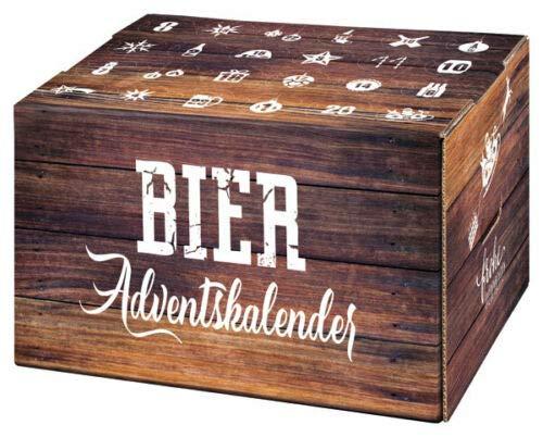BIER Adventskalender zum selberbefüllen Box mit 24er Gefache sehr stabil
