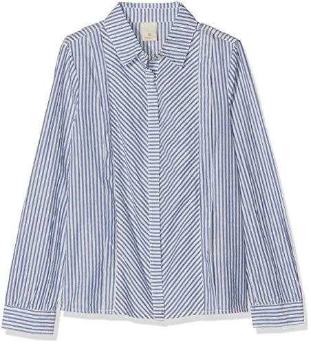 Scotch & Soda Regular Fit Shirt In Yarn Dyed Lurex Stripe Camisa...