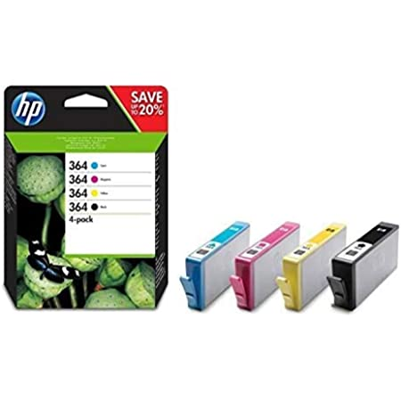 Hp 364 Multipack Original Druckerpatronen Schwarz Rot Blau Gelb Für Hp Officejet Deskjet Photosmart Bürobedarf Schreibwaren