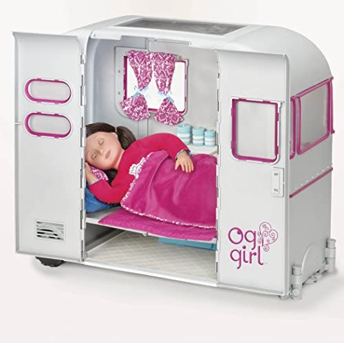 Amazon.com: Our Generation Dolls R.V. Seeing You Doll Camper, 18 ...