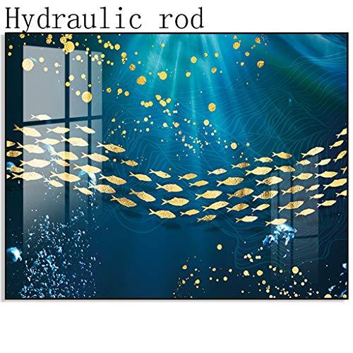 Dekoration Stromzähler Box Dekorative Malerei Schwach Stromkasten Abschirmung Wandbild Elektrisches Tor Multimedia Punch-frei (Color : C, Size : 50 * 40)