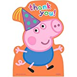 Postcard Thank You Cards   Peppa Pig Collection   Party Accessory