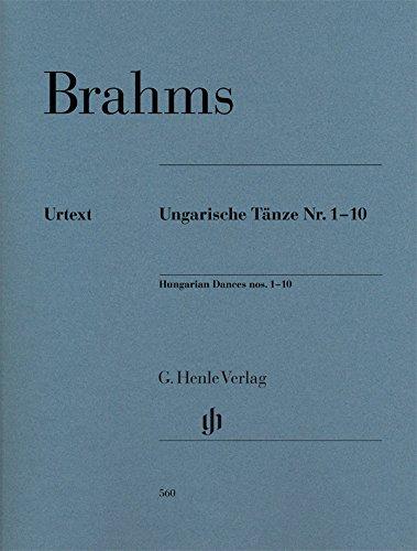 Ungarische Tänze Nr. 1-10 - revidierte Ausgabe; Klavier zu zwei Händen