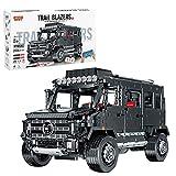 Mocdiy Bloques de construcción de ingeniería de coche, todoterreno, modelo para Mercedes-Benz Unimog, 2939 piezas, juego de construcción compatible con Lego Technic