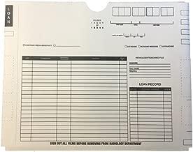 Standard Duty X-Ray Jacket - Preprinted Both Sides, No Pocket, 14-1/2