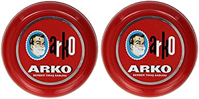 Arko Shaving Soap in Bowl 90g (2 PCs Offer)