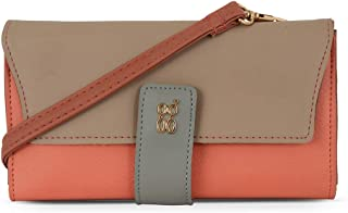 Baggit Spring-Summer 2020 Faux Leather Women's Harmonium Wallet (Pink) (Lzxe Pranky)