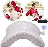 Meneflix Arm Pillow Cuddle Pillow Couple Pillow Slow Rebound Pressure Romantic Pillow Side