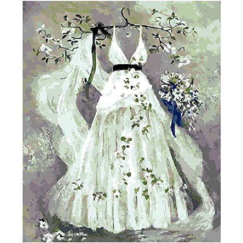 Puzzles Rätsel 1000 Teile Für Erwachsene Hochzeitskleid Auf Kleiderbügel Dekoration Für Das Heimenspiel Lernspielzeug Für Kinder Und Erwachsene