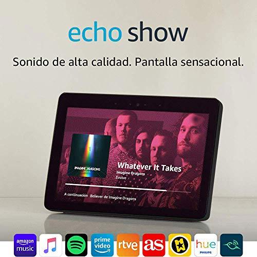 Echo Show (2.ª generación) – Altavoz inteligente con pantalla LCD