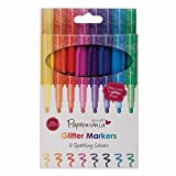 Docrafts Glitter Markers (Pack of 8)