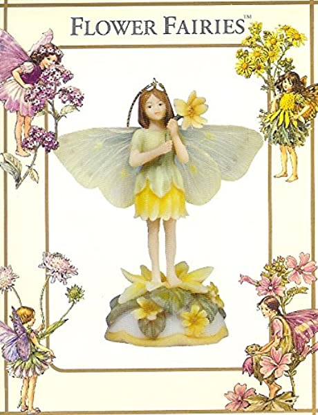 Celandine Flower Fairy Figurine Ornament Cicely Mary Barker