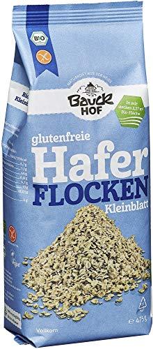Bauckhof Bio Bauck Bio Haferflocken Kleinblatt, glutenfrei (2 x 475 gr)