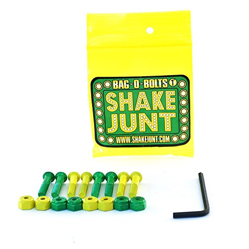 Shake Junt Bag-o-Bolts Skateboard-hardware, 2.54 cm