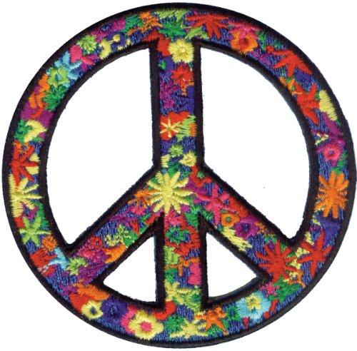 C&D Visionary Application Flower Power Peace Patch
