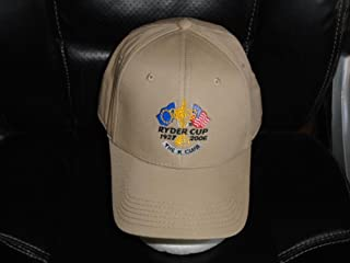 2006 RYDER CUP ADJUSTABLE ADULT STRAPBACK GOLF HAT NEW WITHOUT TAGS e0b512627a53