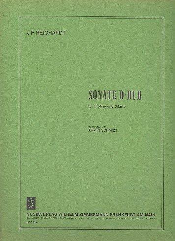 Sonate D-Dur: für Violine und Gitarre