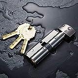 Schließzylinder Profilzylinder Zylinder Türzylinder Size 70Mm Cylinder Door Hardware Security Locks Brass Cylinder Double Single Open Same Key Interlocking-Greyish_Brown