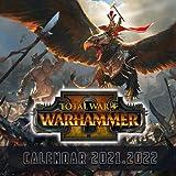 Total War WARHAMMER II: 2021 – 2022 Games Calendar – 18 months – 8.5x8.5 High Quality Images