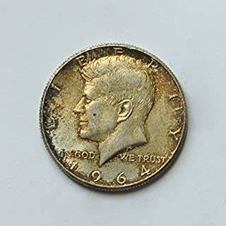 1964 United States of America Kennedy Half Dollar (Silver 90%) #11 Coin Very Good Details