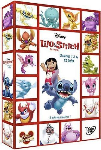 Lilo & Stitch La série - Volumes 1 à 4 - coffret 12 DVD