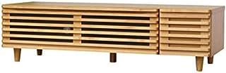 ISSEIKI TVボード ナチュラル 幅124cm(アルダー材)木製家具 BLADE-2 124 TV (NA) リビング家具 テレビ台 TV台 32型対応 DVD収納 テレビボード