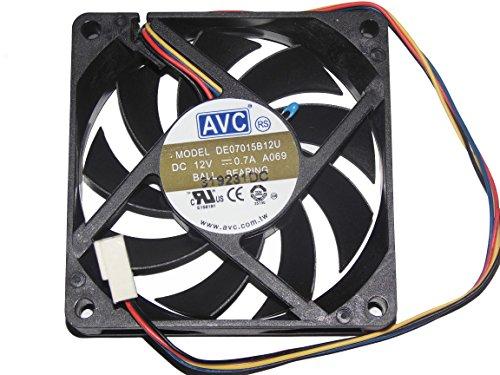 AVC 7015DE07015B12U 12V 0,7A 4Draht CPU-Kühler Fan