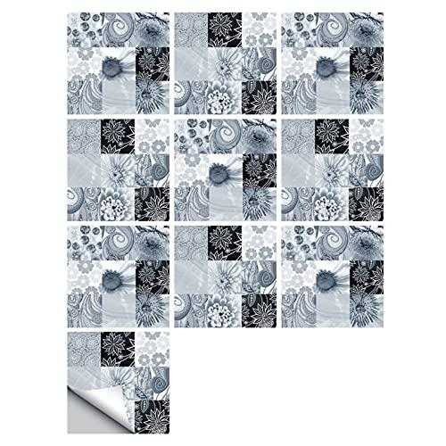Fawyhr Azulejos de mármol pegatinas Textura Mate Superficie Cocina Cocina Baño Dormitorio Dormitorio Ilustración antideslizante Espesado Impermeable Calcomanías de Pared Fondo Muebles Escaleras Decora